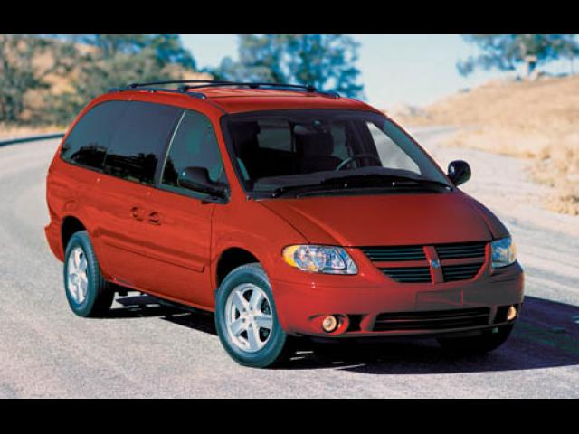 Junk 2005 Dodge Grand Caravan in Detroit