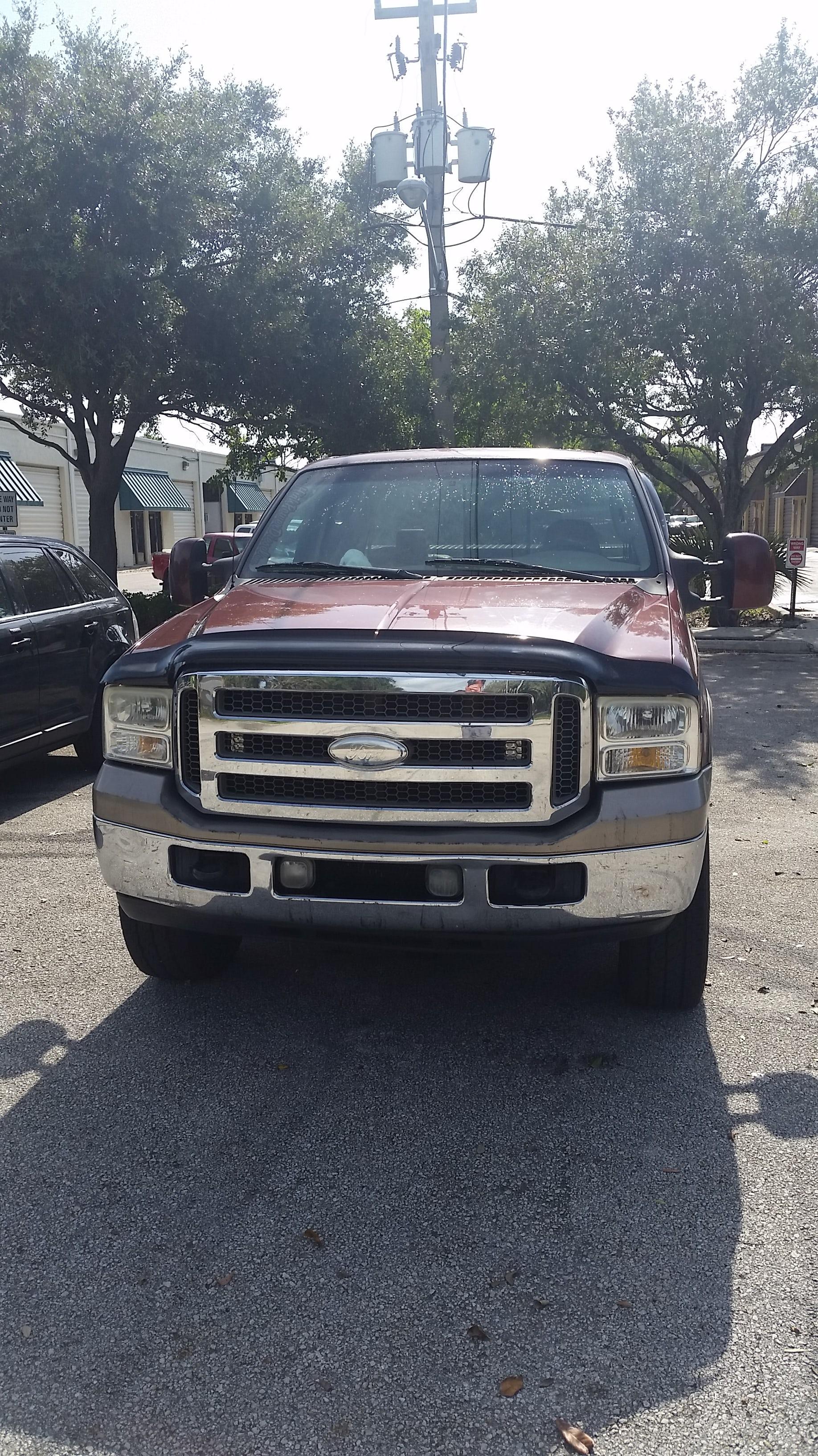 Junk 2005 Ford F250 in Fort Lauderdale