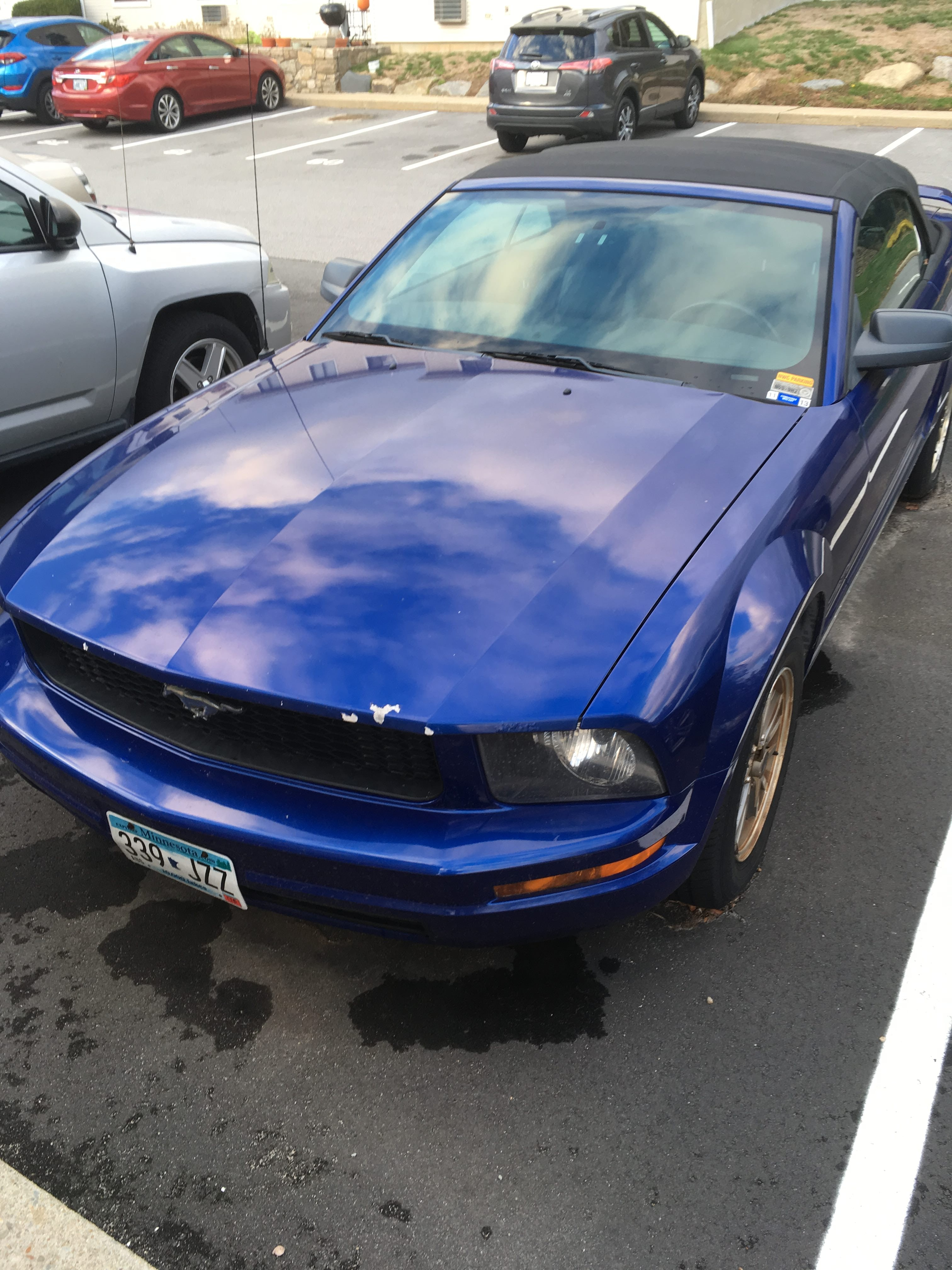 Junk 2005 Ford Mustang in Newport