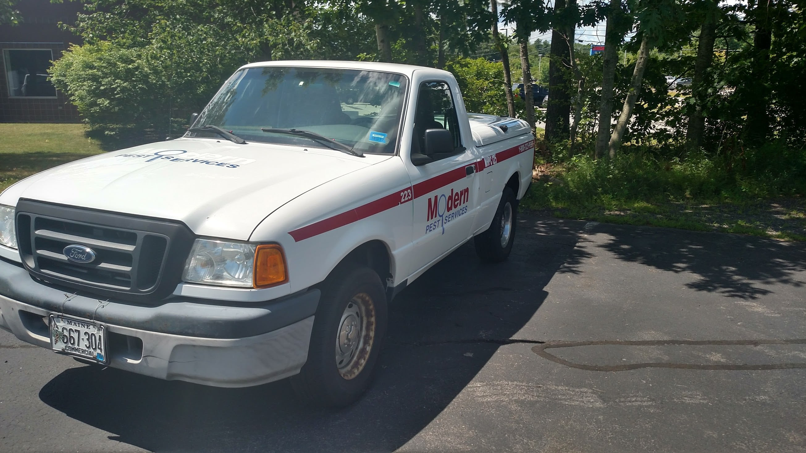Junk 2005 Ford Ranger in Westbrook