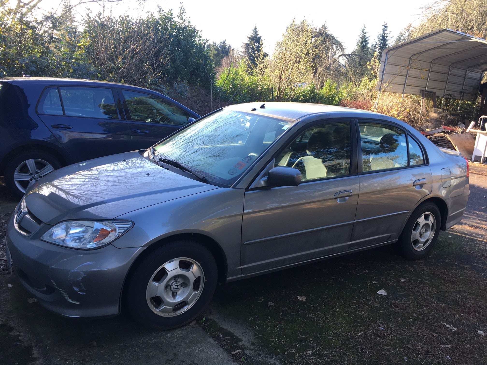 Junk 2005 Honda Civic in Scappoose