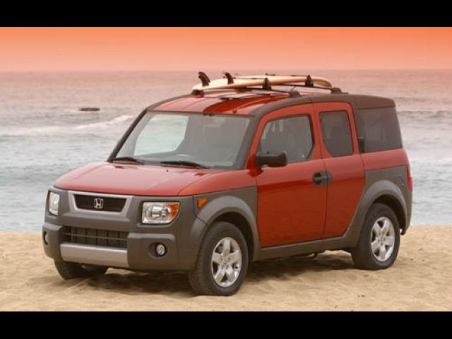 Junk 2005 Honda Element in Los Angeles