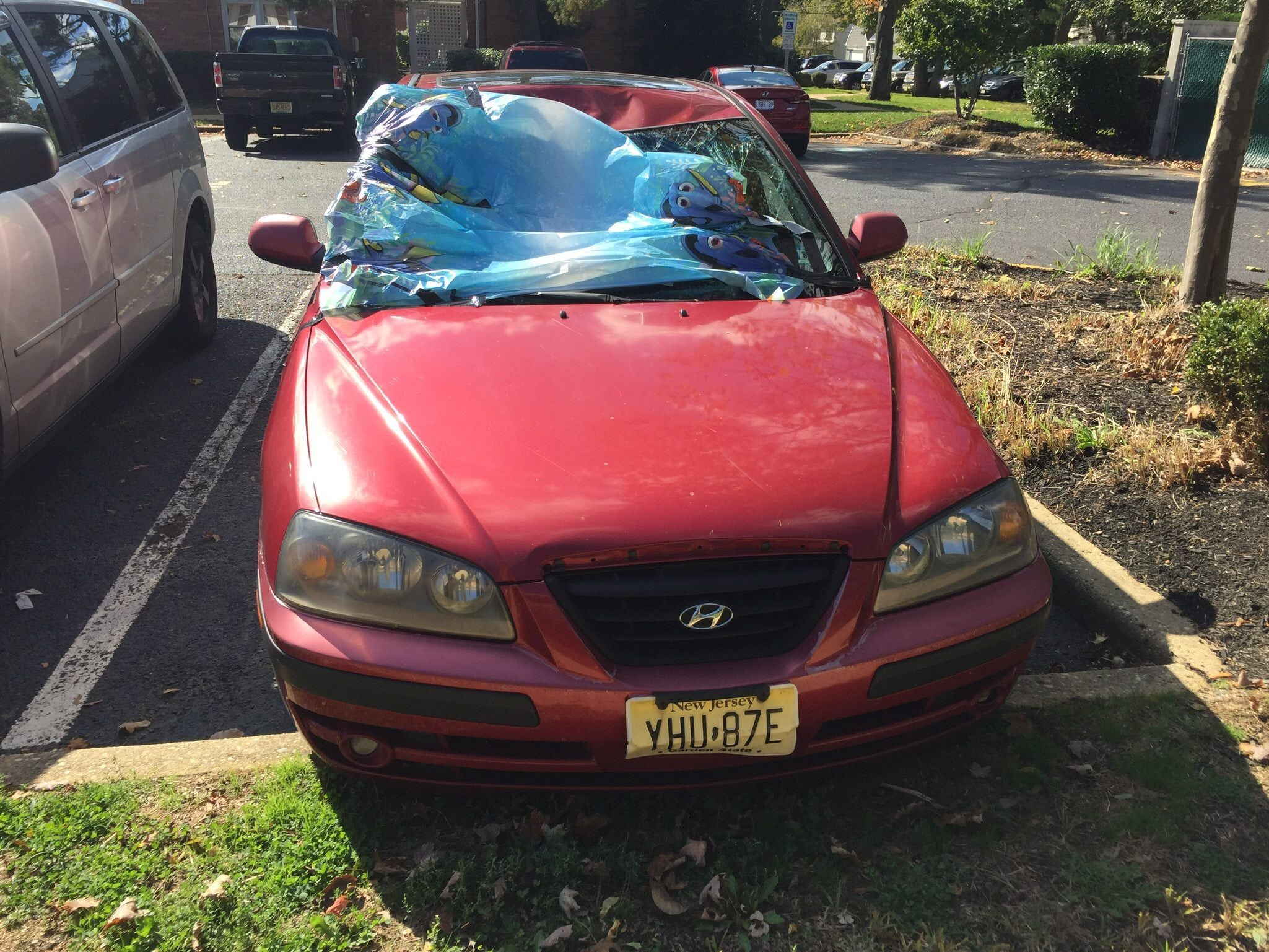 Junk 2005 Hyundai Elantra in Atlantic Highlands