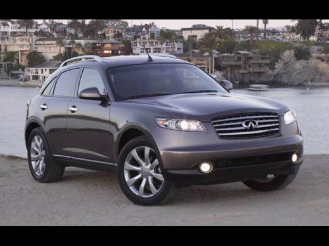 Junk 2005 Infiniti FX35 in Baltimore