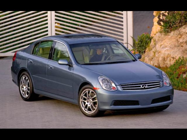 Junk 2005 Infiniti G35 in New Caney
