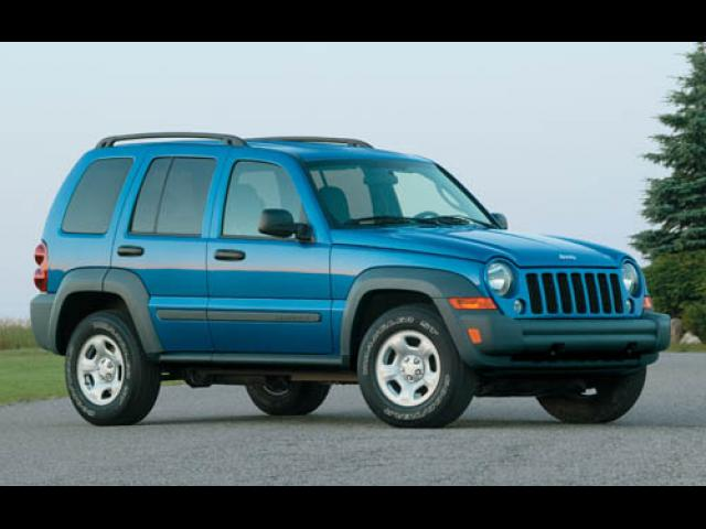 Junk 2005 Jeep Liberty in Mansfield