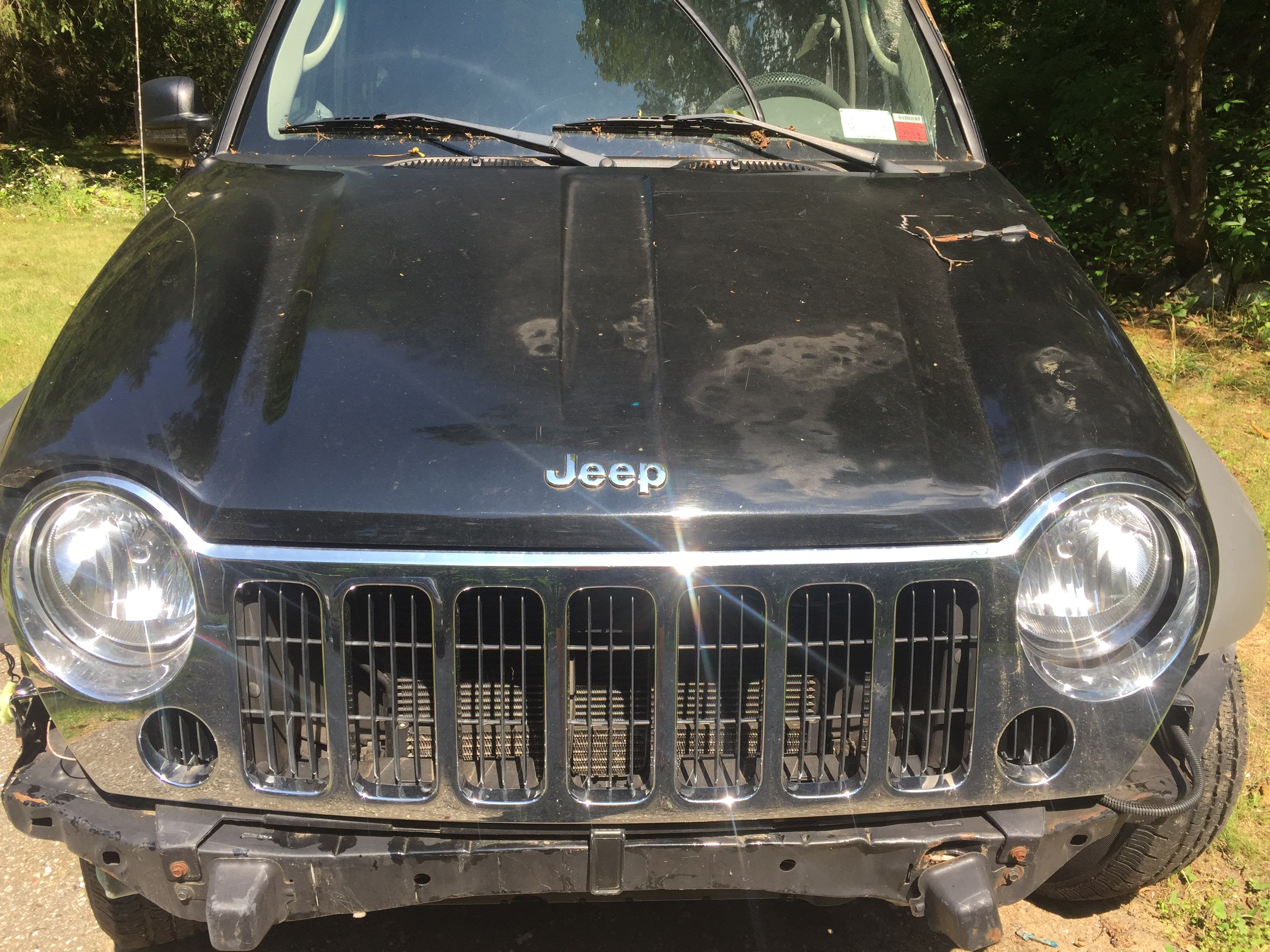 Junk 2005 Jeep Liberty in Putnam Valley