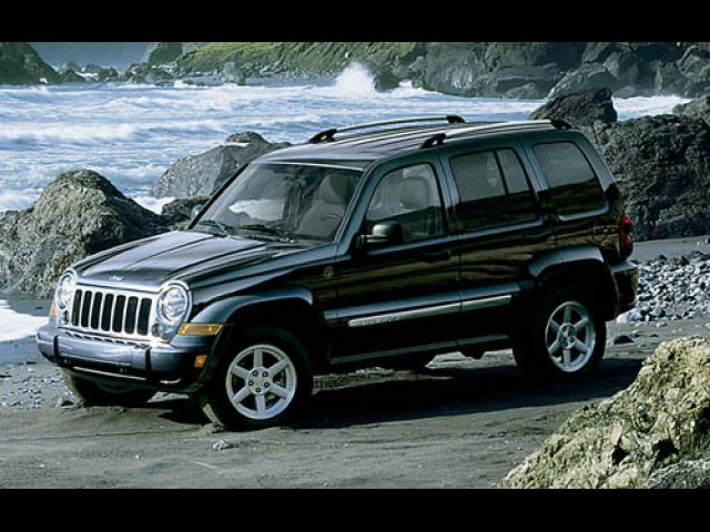 Junk 2005 Jeep Liberty in White House
