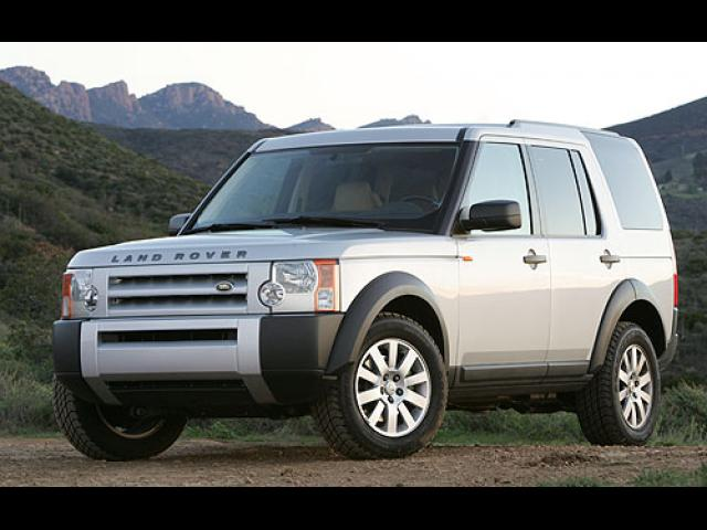 Junk 2005 Land Rover LR3 in Roswell