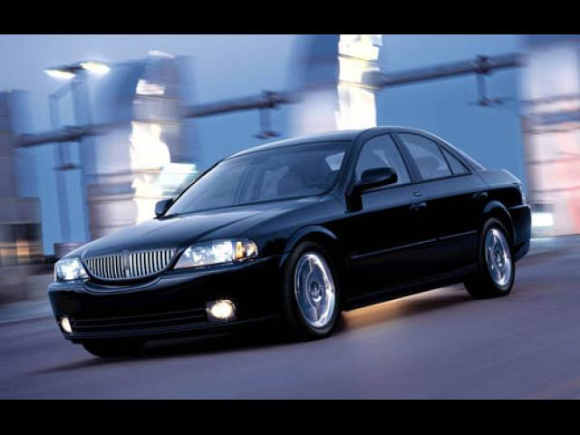 Junk 2005 Lincoln LS in Fort Worth