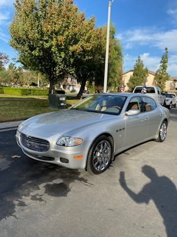 Junk 2005 Maserati Quattroporte in Orange