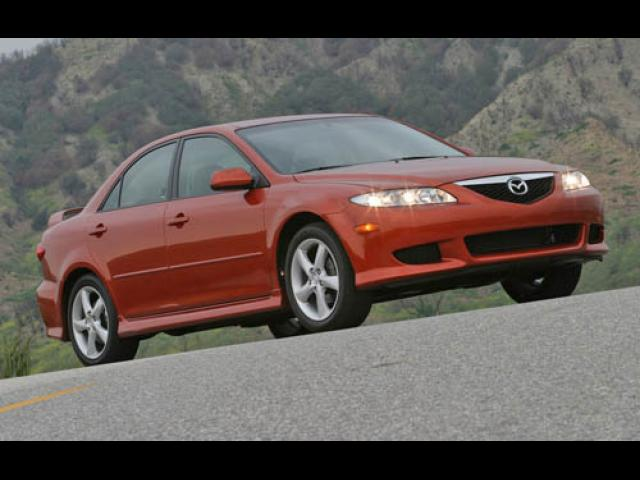 Junk 2005 Mazda 6 in Canby