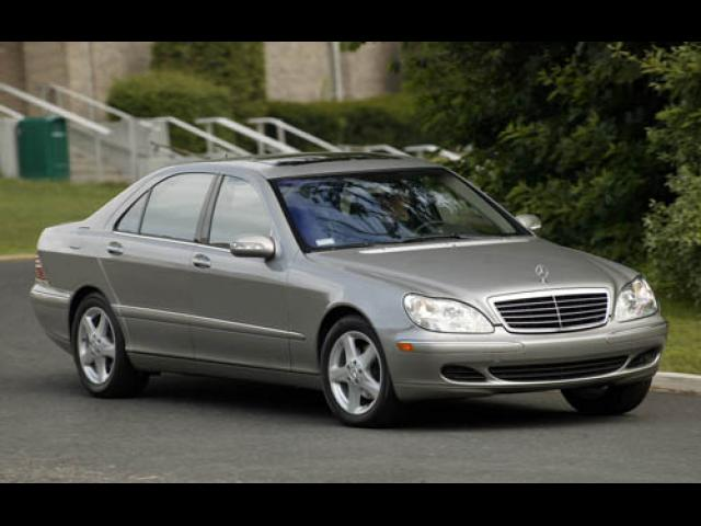 Junk 2005 Mercedes-Benz S in Sacramento