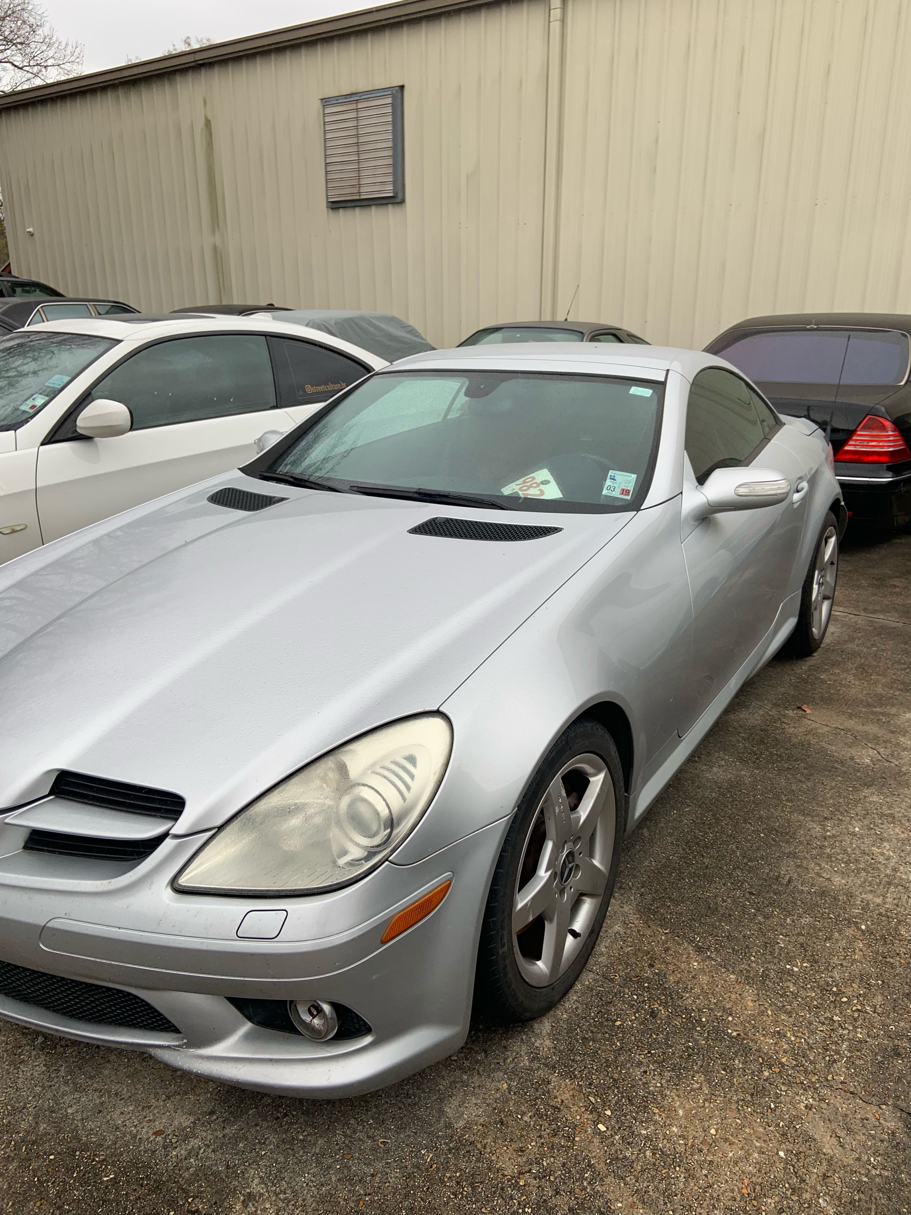 Junk 2005 Mercedes-Benz SLK in Baton Rouge