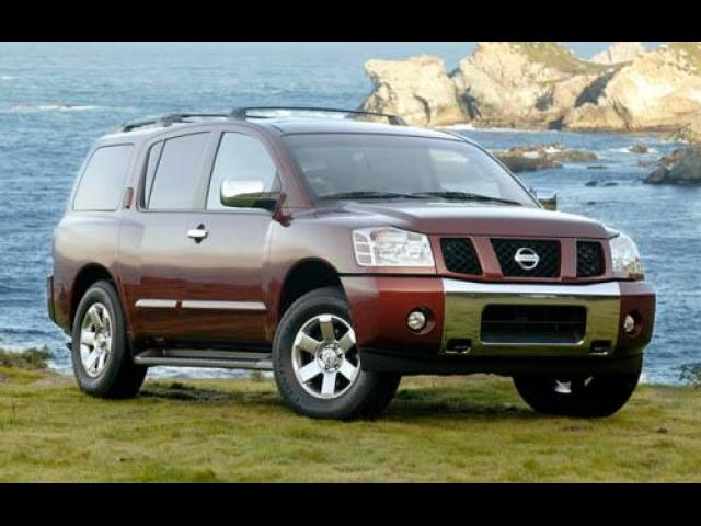 Junk 2005 Nissan Armada in New Port Richey