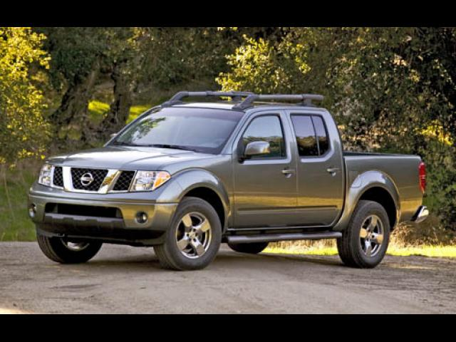 Junk 2005 Nissan Frontier in Euless