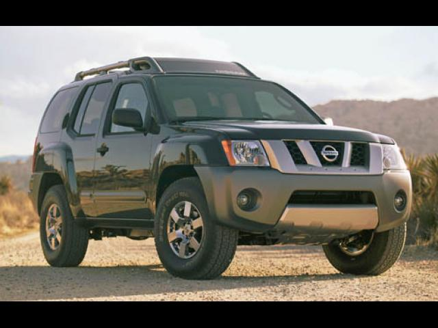 Junk 2005 Nissan Xterra in North Hollywood