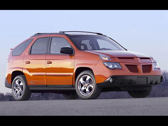 Junk 2005 Pontiac Aztek in New Orleans