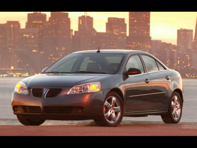 Junk 2005 Pontiac G6 in Willows