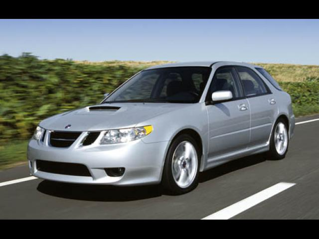 Junk 2005 Saab 9-2 in Los Angeles