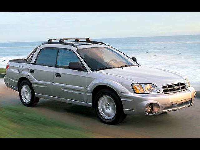 Junk 2005 Subaru Baja in Dallas