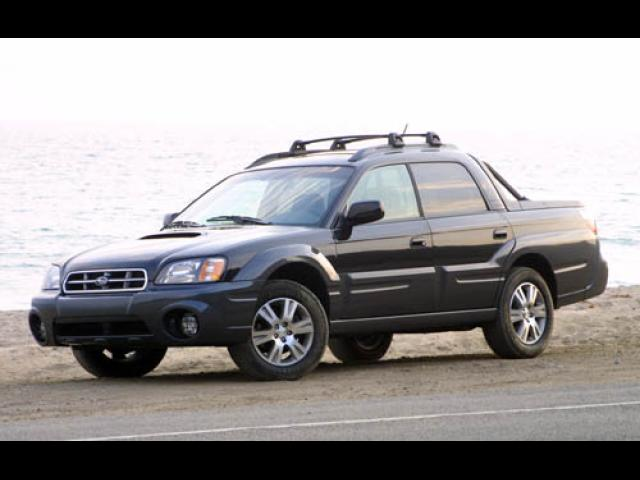 Junk 2005 Subaru Baja in Everett