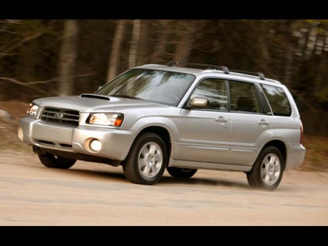 Junk 2005 Subaru Forester in Milwaukee