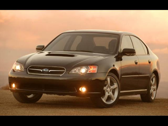 Junk 2005 Subaru Legacy in Hubbardston