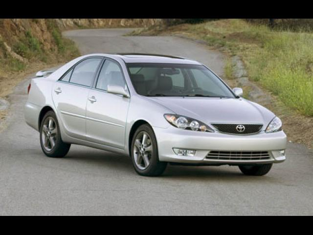 Junk 2005 Toyota Camry in Houston