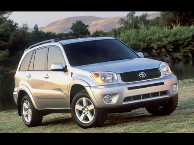 Junk 2005 Toyota Rav4 in South Burlington
