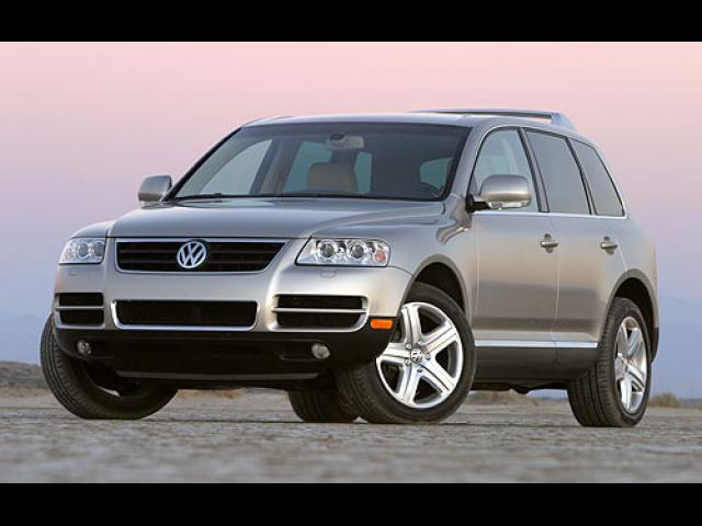 Junk 2005 Volkswagen Touareg in Broken Arrow