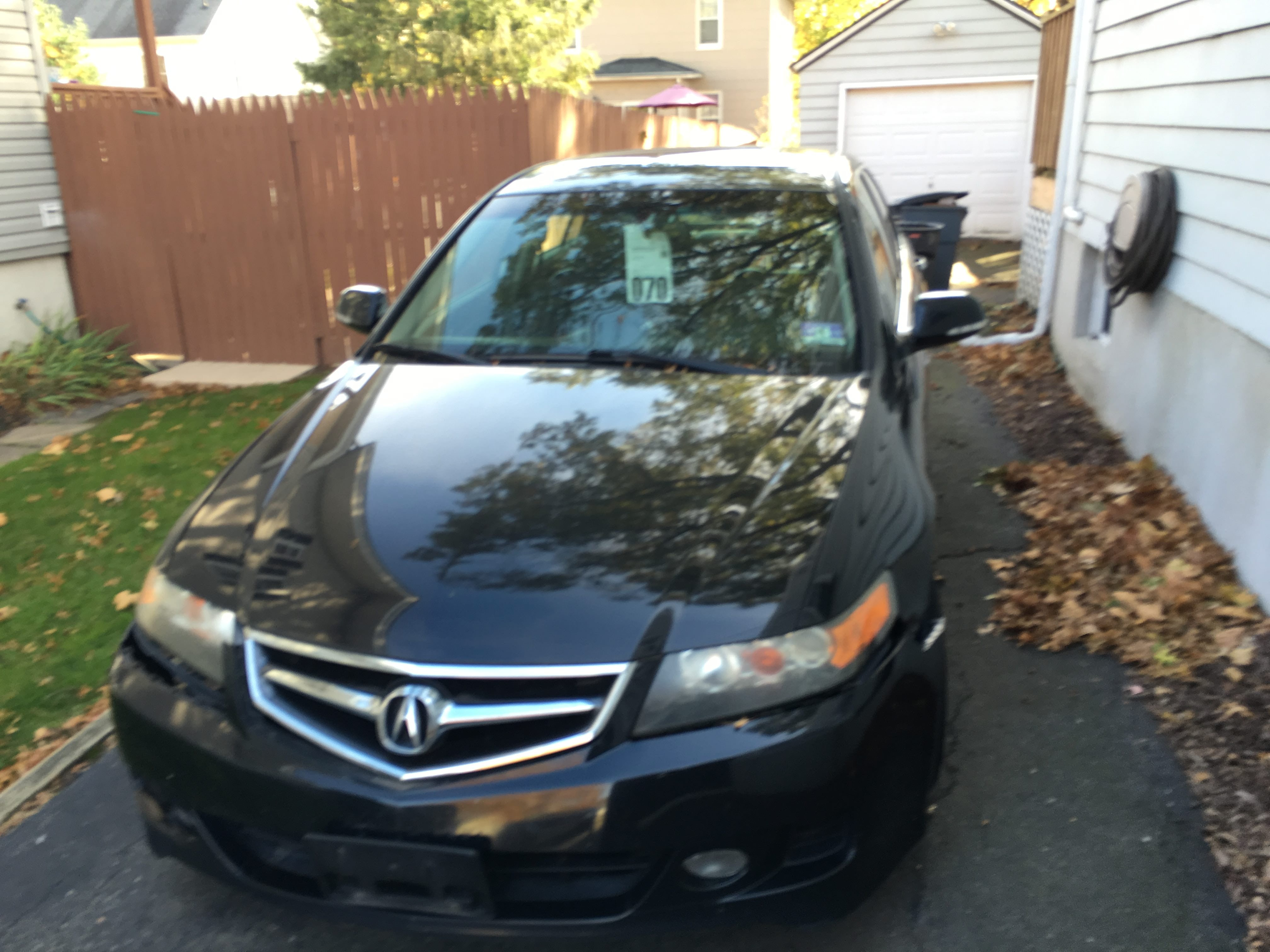Junk 2006 Acura TSX in Scotch Plains