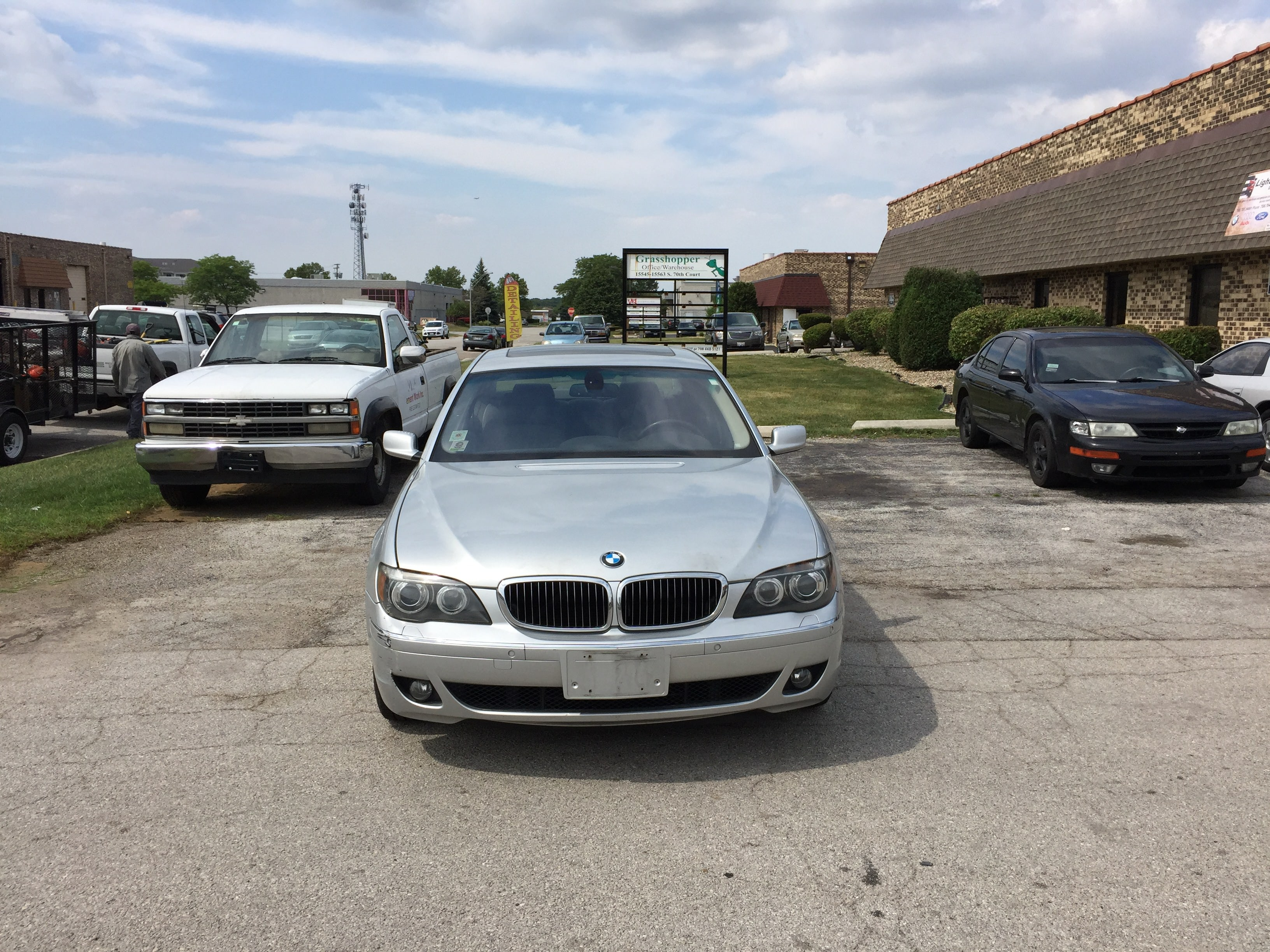 Junk 2006 BMW 750 in Orland Park