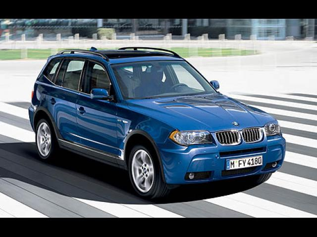 Junk 2006 BMW X3 in Waco