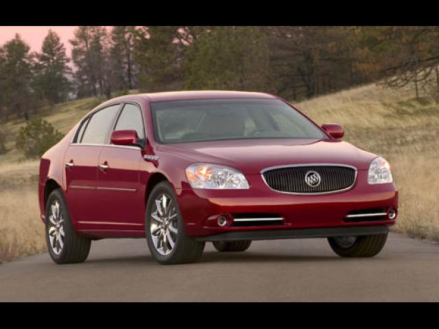 Junk 2006 Buick Lucerne in Conroe