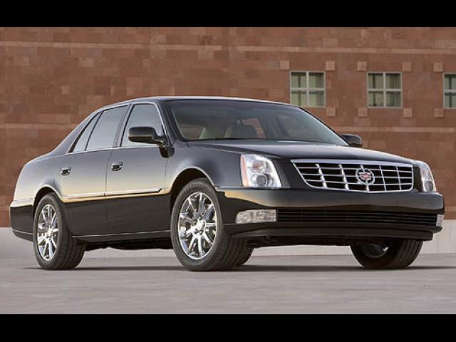 Junk 2006 Cadillac DTS in Houston
