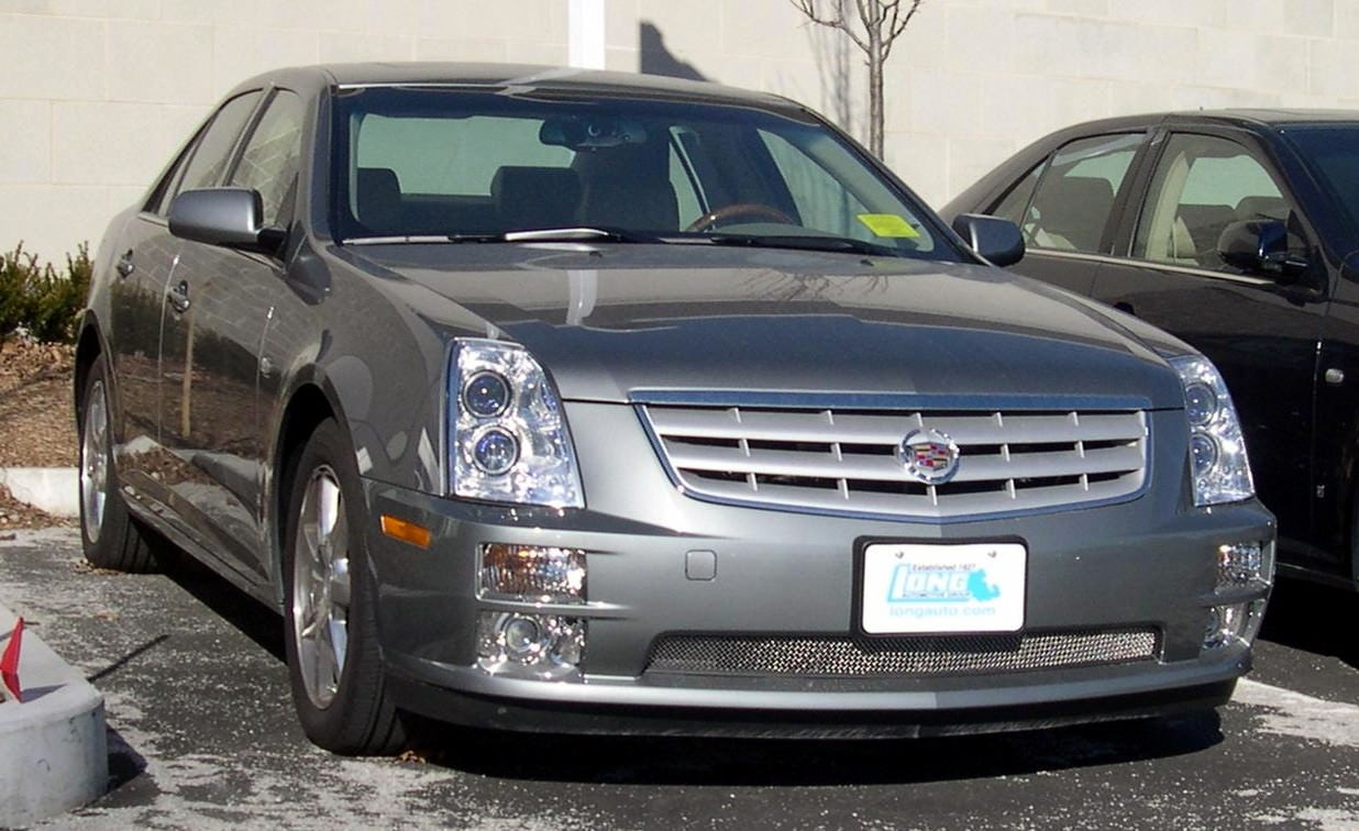 Junk 2006 Cadillac STS in Saint Charles
