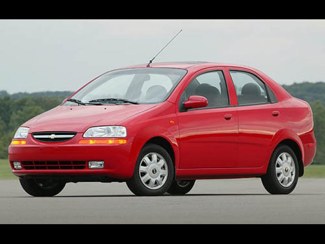 Junk 2006 Chevrolet Aveo in Lemoore