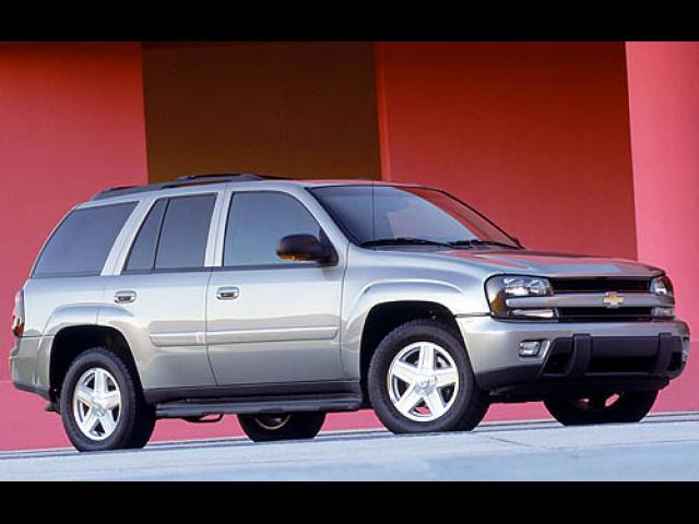 Junk 2006 Chevrolet TrailBlazer in Cleveland