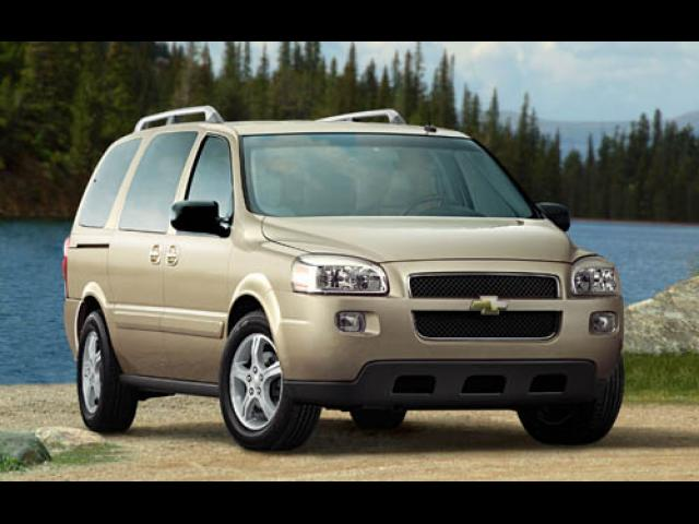 Junk 2006 Chevrolet Uplander in Pleasanton