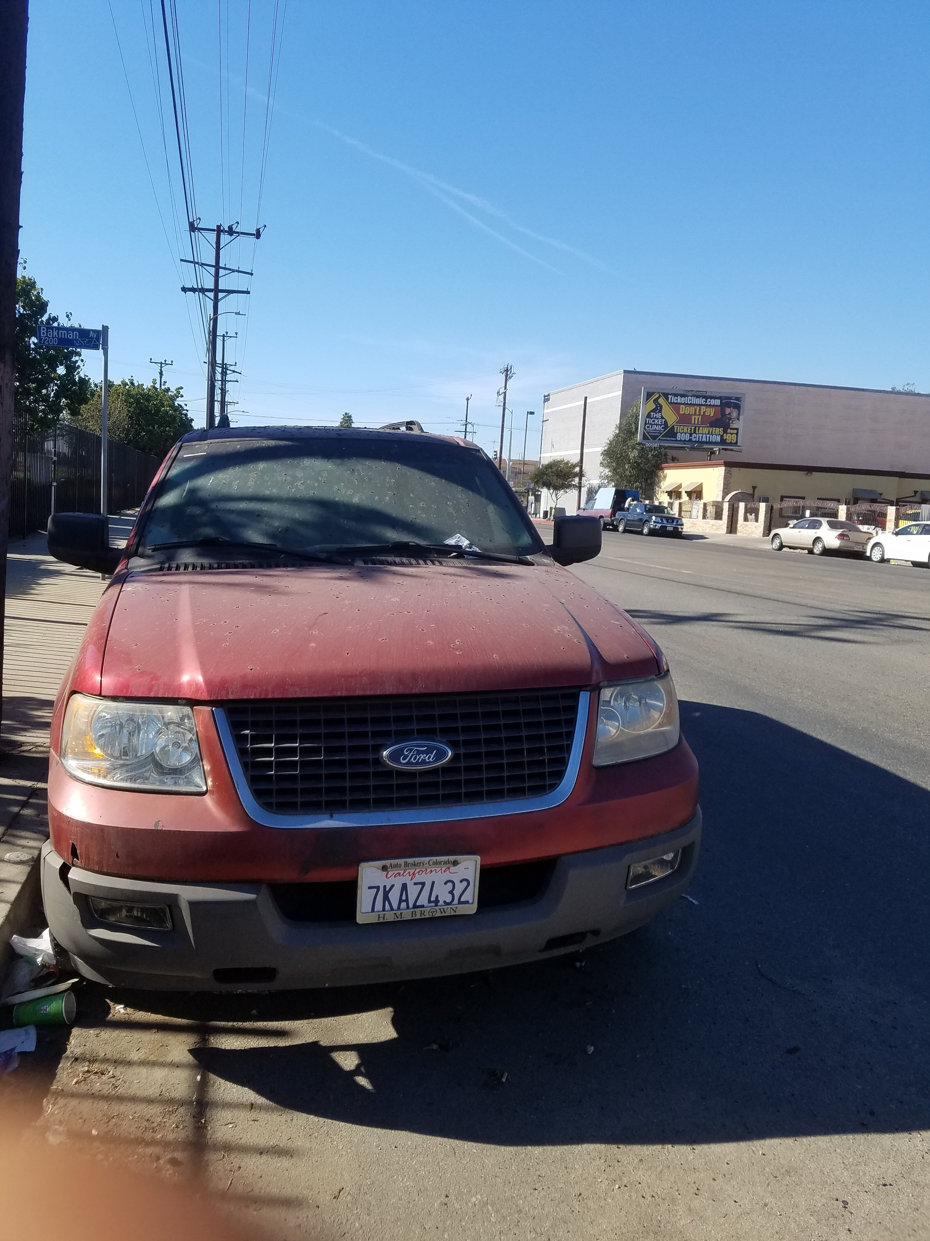 Junk 2006 Ford Expedition in Sun Valley
