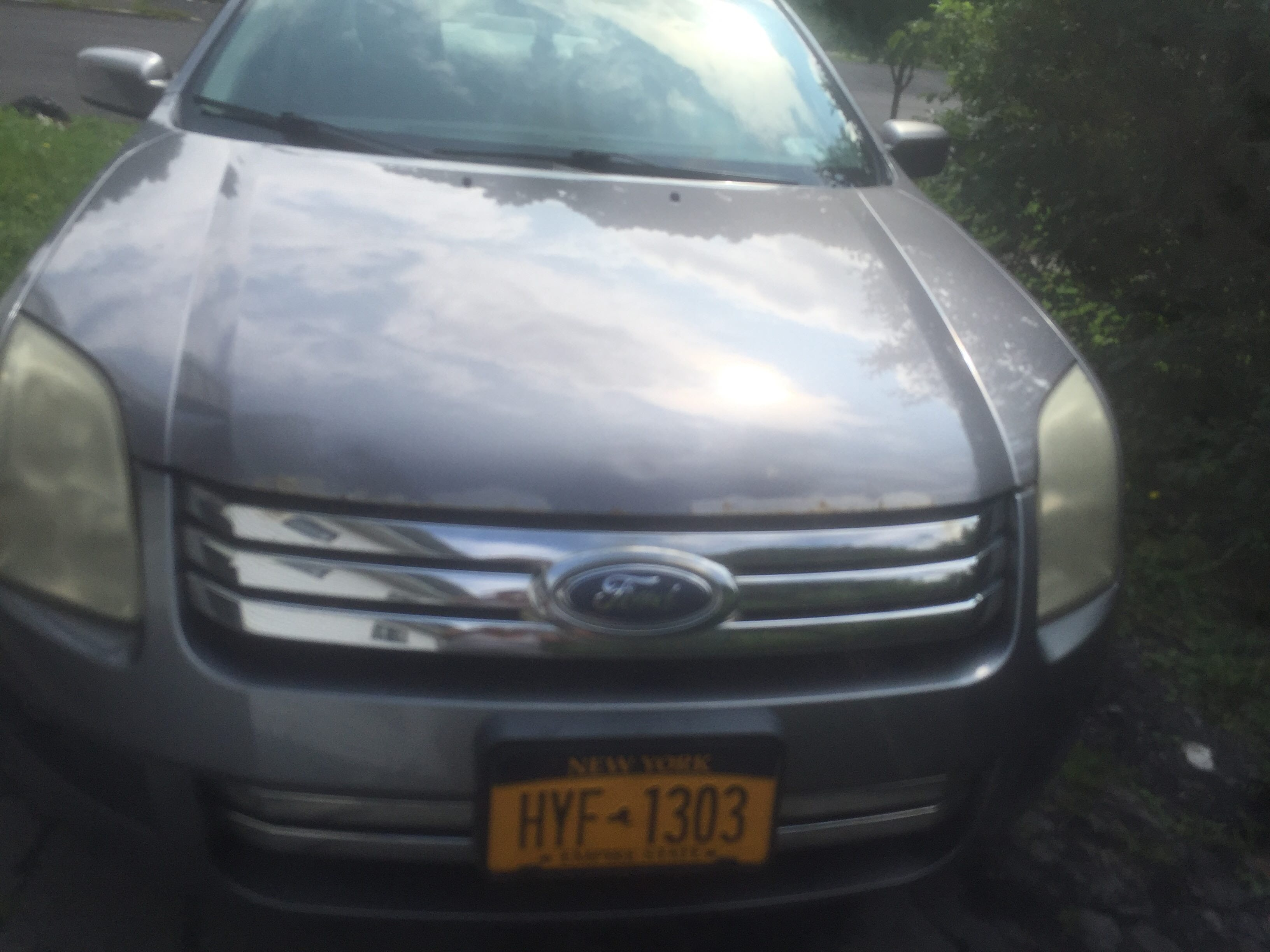Junk 2006 Ford Fusion in Syracuse