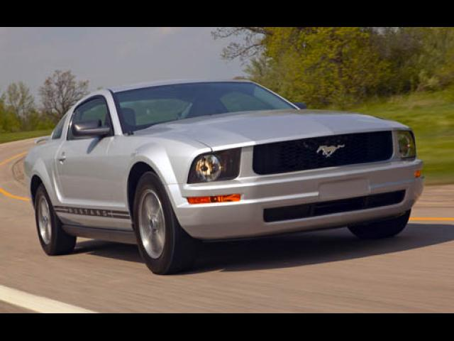Junk 2006 Ford Mustang in College Station