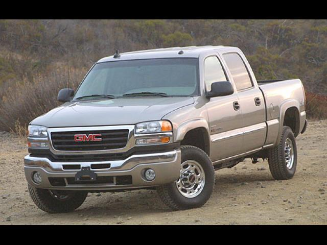 Junk 2006 GMC Sierra in Port Richey