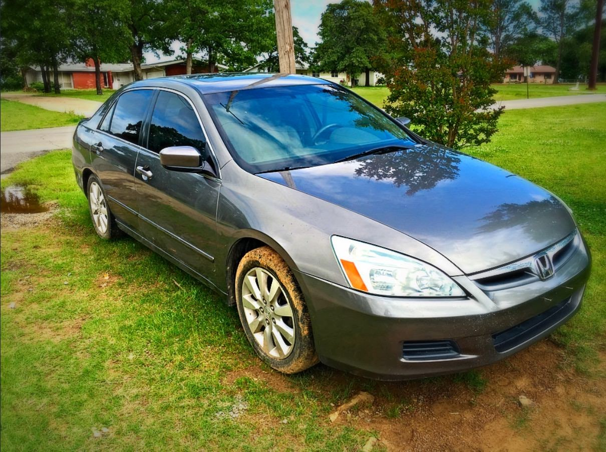 Junk 2006 Honda Accord in Henryetta