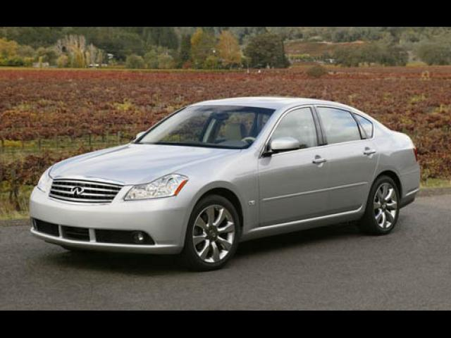 Junk 2006 Infiniti M35 in East Hartford