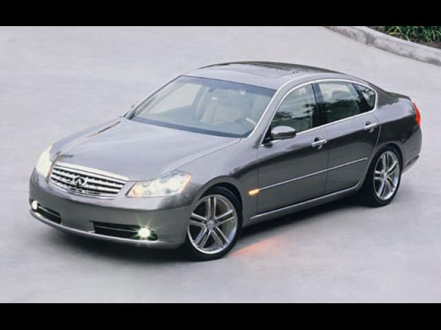 Junk 2006 Infiniti M45 in Newport News