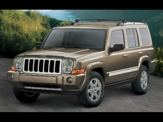 Junk 2006 Jeep Commander in League City