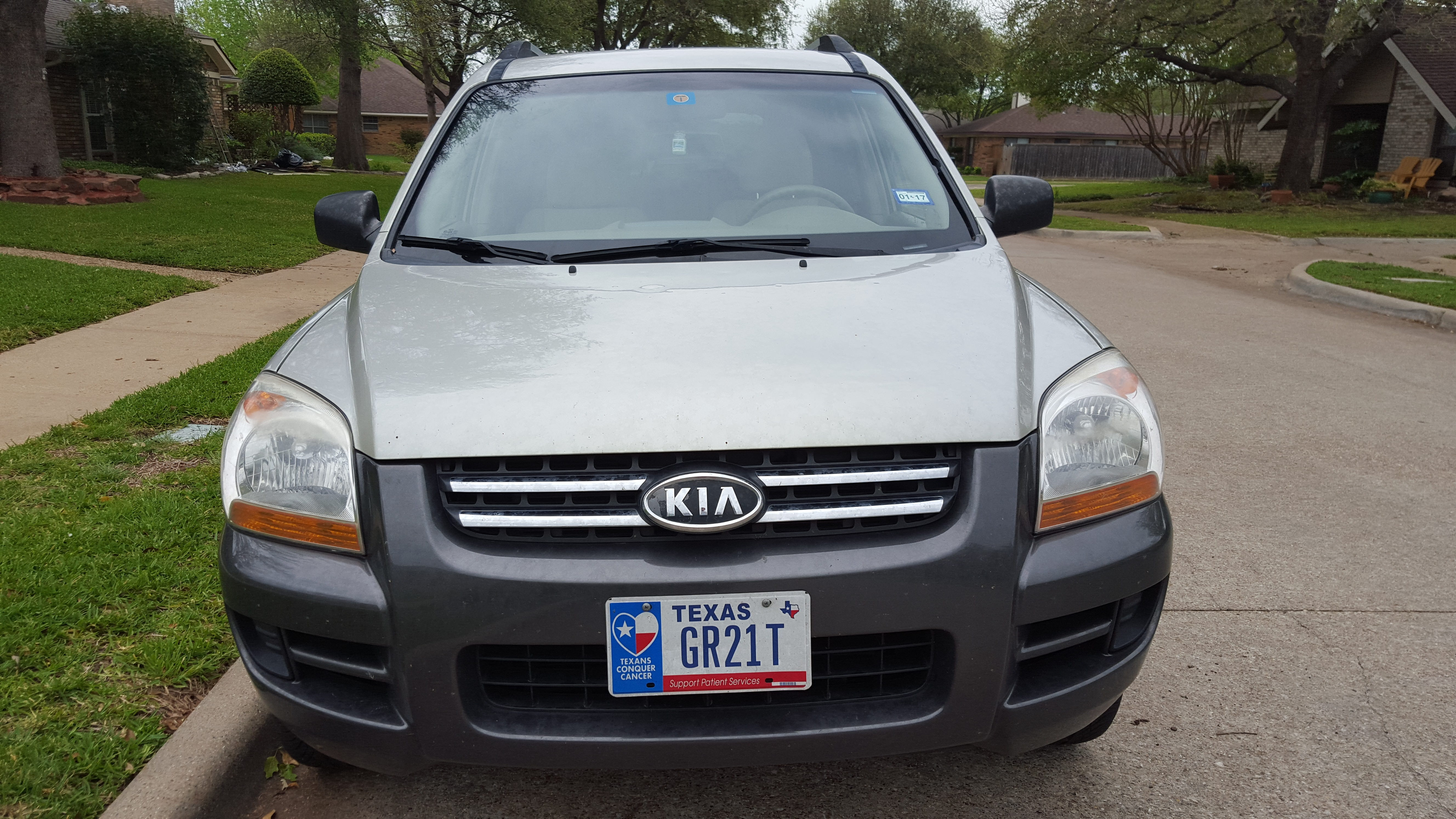 Junk 2006 Kia New Sportage in Plano