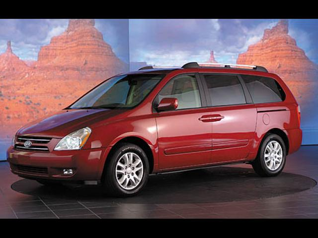 Junk 2006 Kia Sedona in Clinton